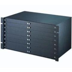 Châssis IES-5000ST pour cartes filtres, avec 16 slots pour des cartes filtres voix/données. Connecte