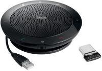 Jabra SPEAK? 510 + Microsoft - Audioconférence USB & Bluetooth - Certifié Microsoft plus Bundle LINK