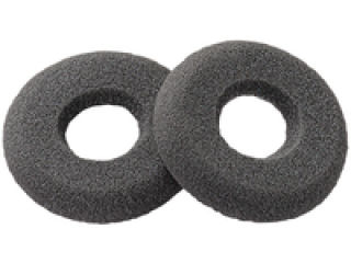 SPARE ear cushions donut black x25
