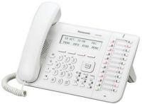 KX-DT543NE Poste numérique Blanc, Afficheur 3 Lignes-LCD, Retro-Eclairé, 12 Touches, Consoles de 48