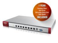 Firewall 1 à 200 utilisateurs - Filtrage UTM (licences incluses) - Contrôleur WiFi (management de 2