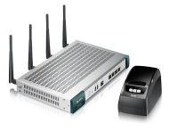 Solution HotSpot 802.11 a/b/g/n double radio avec imprimante SP350E, 100 utilisateurs (extensible à