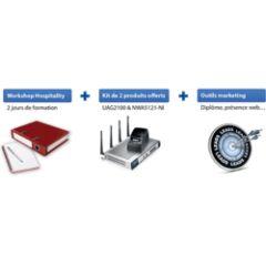 Starter kit Hospitality formation, produits & outils marketing Durée de formation : 2 jours Produits