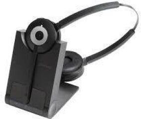 Jabra PRO 930 Duo, DECT, Connexion PC via USB, Antibruit,  120 mètres de portée - Protection acousti