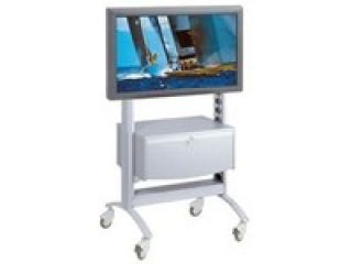 Mobile trolley for flat screen + box