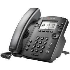 Microsoft Skype for Business/Lync edition VVX 301 6-line Desktop Phone with HD Voice, dual 10/100 Et