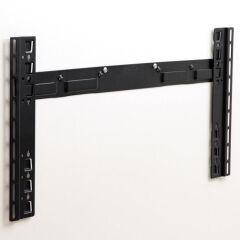 Support mural noir fixe pour écran  LCD VESA 800X400, gamme APPLIK
