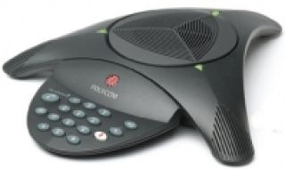 SoundStation2 (analog) conference phone without display. Non-expandable. Includes 220V-240V AC power