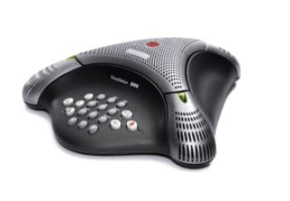 SoundStation Duo dual-mode conference phone including Power Supply, Power Cord with CEE 7/7 plug, Po