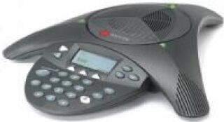 SoundStation2 (analog) conference phone with display. Expandable. Includes 220V-240V AC power/telco
