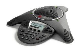 Système d'audioconférence IP Polycom SoundStation IP 6000. Alimentation non incluse.