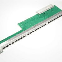 Plug-In Patch Panel NPPAB (24 x RJ45, 2-wire) for HiPath 3800