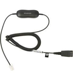 Le GN 1200 est un cordon universel pour raccorder un micro casque à un téléphone.