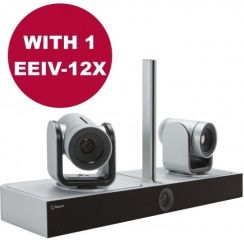 EagleEye Director II with 1-EagleEye IV-12x camera, power supply & Euro power cord.  Requires HDCI i
