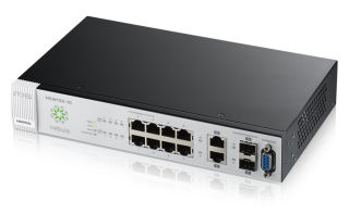 Switch NSW10010 - 8 ports Gbps - 2 ports Gbps combo (RJ45/SFP) - rackable - L2 - licence 1 an Nebula